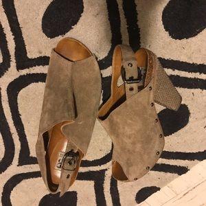 Barneys New York Shoes - FINAL PRICE Barneys co-op suede heels