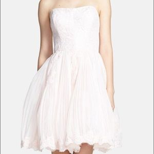 Ted Baker London Dresses & Skirts - Ted Baker Raul Strapless Tulle Lace Dress 2 = 6
