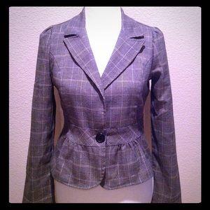 Jackets & Blazers - Peplum Blazer