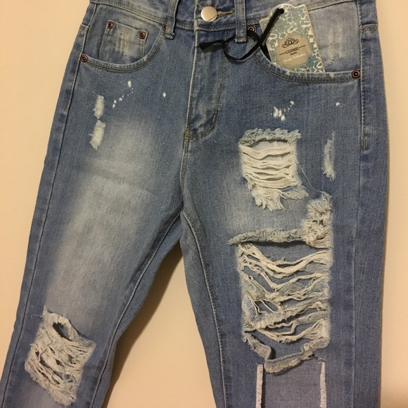 Missguided Jeans - • Cosmic misguided Jeans Carli Bybel size 4 •