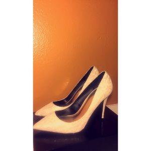 LFL Shoes - LFL White Lace Pointed Pumps 👠
