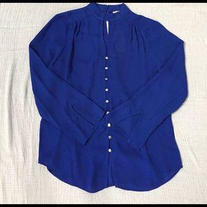 MICHAEL Michael Kors Tops - NWT Michael Kors blue button down top