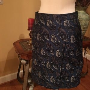 Anne Klein - Sz-4 Mini Wrap Skirt! 