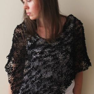 Other - Handmade Knitted Poncho fits up to 42DD