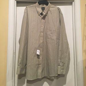 Jos A. Bank men's dress shirt