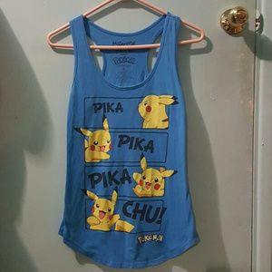 Mighty Fine Tops - Pikachu Tank Top