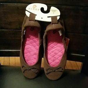Acorn Shoes - Acorn Comfy Leather Flats;-)