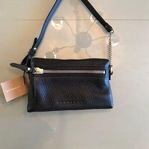 Burberry Handbags - Authentic Burberry Brit Leather Mini cross body