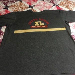 Guess Denim Other - Guess Denim T Shirt x athletic depth