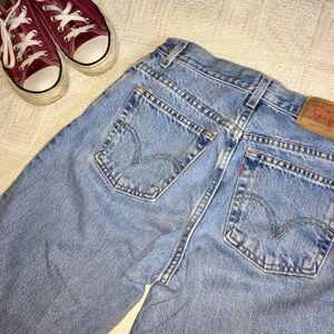 Levi's Denim - Vintage Levi's 550 High Waisted Tapered Jeans
