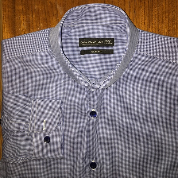 91f150a9 Cedar Wood State Other - Cedar Wood State slim fit shirt