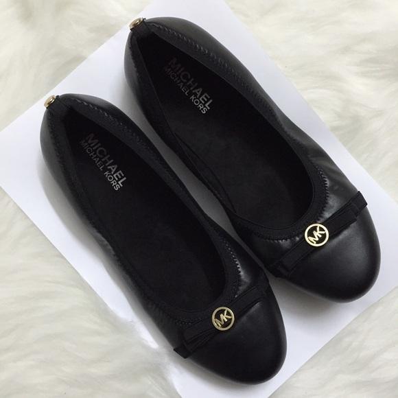 ce9dad6ba895 Michael Kors Rover Lux Faux Leather Ballet Flats. M_58df03a3d14d7bf4640159c4