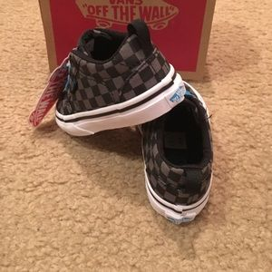80f06dc58c Vans Shoes - Vans SP16 Checkers Bishop Slip-On