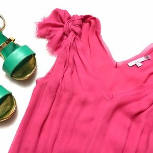 Calypso St. Barth Dresses & Skirts - CALYPSO ST. BARTH Pink Silk Chiffon Dress