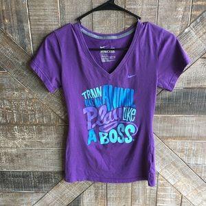 Nike Tops - Purple Nike Short Sleeve Tee