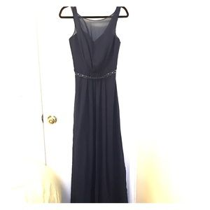 Dresses & Skirts - Beautiful navy blue evening dress