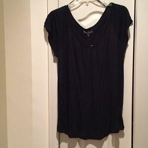 mercer & madison Tops - Ladies navy blue v neck rayon top 2x NWT