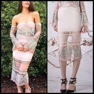 Asilio Dresses & Skirts - ASILIO 🌙Birds of a Feather Midi Skirt NWT