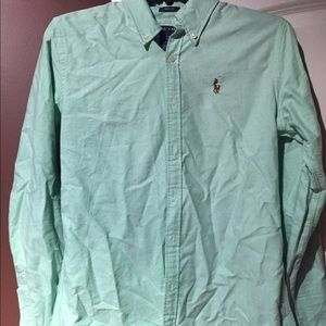 Ladies Ralph Lauren slim fit button up EUC