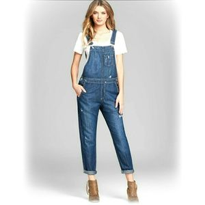 Big Star Denim - Big Star Distressed Overalls