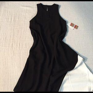 RACHEL Rachel Roy Dresses & Skirts - Rachel Roy black & white asymmetrical dress