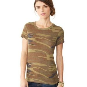 Alternative Apparel Tops - Alternative Apparel Camo Tee