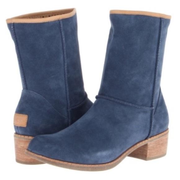 UGG Australia Blue Suede Boots