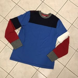 Hanna Andersson Other - Hanna Andersson Boys Mixed Media Long Sleeve Shirt
