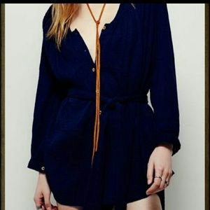 Free People Making Waves Romper