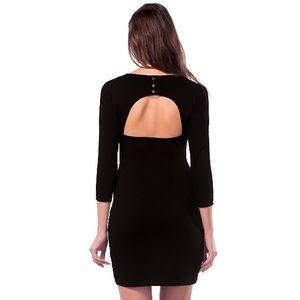 Little Black Back Cut Out Dress