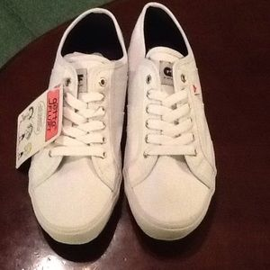 Gotta Flurt Shoes - Gotta Flurt White Sneaker