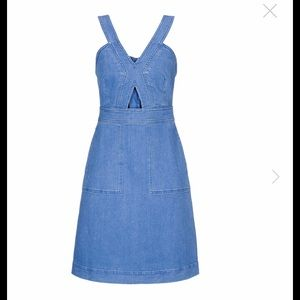 Stella McCartney denim dress size 42
