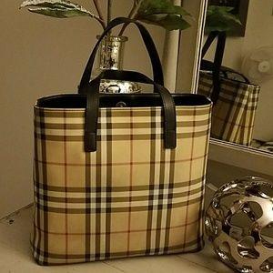 "Burberry  Handbags - Authentic Burberry London handbag 12"" x 10."