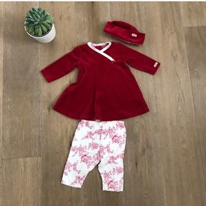 Coccoli Other - Cute Coccoli 3 pic Velour set 3 mos