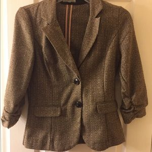 Charlotte Russe Brown Blazer Small Size ❤️