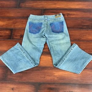 True Religion Distressed Jeans Size 28