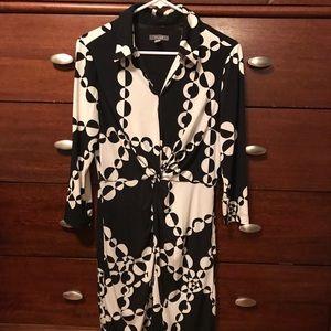Muse Dresses & Skirts - Black & white Muse dress