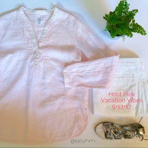 H&M Tops - HP🎉 H&M linen tunic