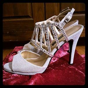 Caparros Shoes - 🌹SALE🌹 Caparros Sparkly Silver Paris Sandals