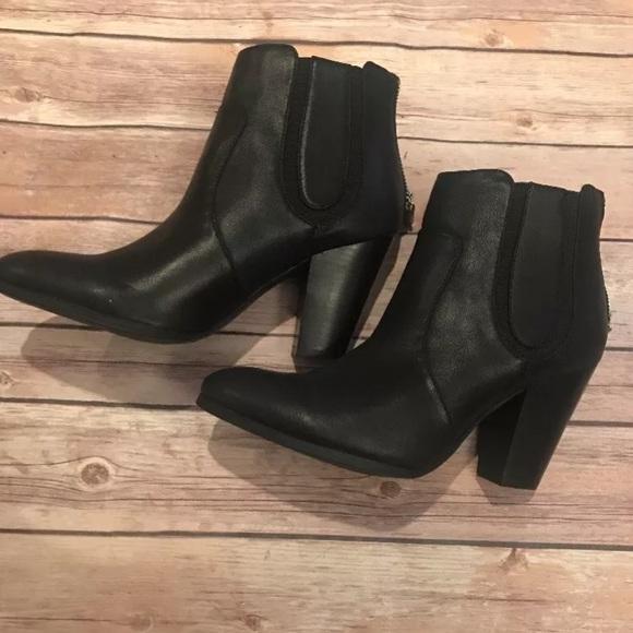3521de42ff4 Adrienne Vittadini BARO Ankle Boots 7 1/2 Black