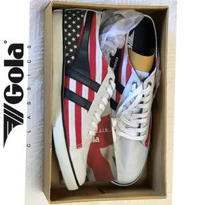 Gola Other - GOLA American Flag Lace-Ups Sz.10 (women Sz. 12)