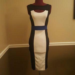 ALLOY Dresses & Skirts - Color Block Dress