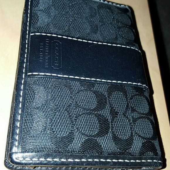 how to clean a coach leather wallet