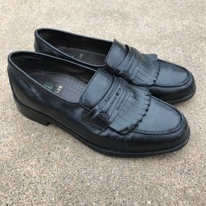 Nunn Bush Other - Nun Bush Men's Shoes Black Leather Slip On Loafer