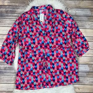 All For Color Tops - All For Color Emma Belted Tunic