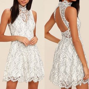 KEEPSAKE the Label Dresses & Skirts - Keepsake White Skater Dress