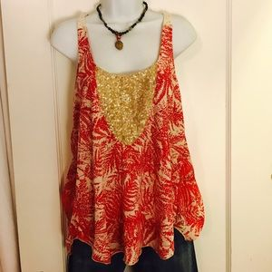 Amazing Anthropologie Multi-media Tank
