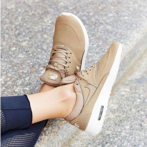 e5aaaf9248 Nike Airmax Thea Premium Desert Camo Nude Sneakers.  M_58df3b50eaf0303996025be0
