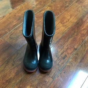 LaCrosse Other - Black toddler rain boots