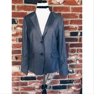 gap Jackets & Blazers - NWT Gap Gray Fitted Blazer Jacket 6
